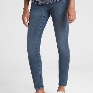 Gap Maternity Soft Wear Full Panel Skinny Jeans